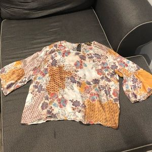100% silk Anthropologie blouse
